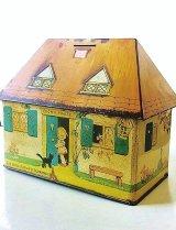 ルーシーアトウェルのビスケット缶 貯金箱