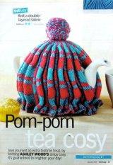 ティーコゼのパターン 編み図 英国