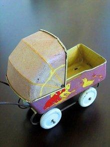 他の写真2: ブリキの乳母車 ドール用サイズ ベビーカー テディベアにも