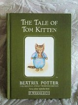 """""""THE TALE OF TOM  KITTEN"""" 仔猫のトム ポターさんの絵本"""