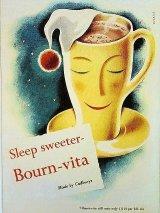 BOURN-VITA キャドバリー 英国 ポスターカード