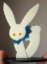 白ウサギのカードホルダー セルロイド