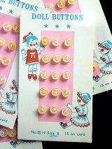 ミニチュアボタン ドール用サイズ オリジナルカード
