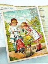 人形遊び ヴィクトリアン トレ-ディングカード