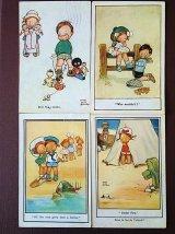 古い時代のアトウェル作品 ポストカード 英国