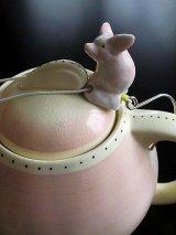 ピンクの豚 ドリップキャッチャー ミニチュア陶器