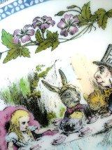 不思議の国のアリス 狂ったお茶会 プレート 英国 ミントン