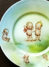 キューピーの絵皿 ローズオニール ドイツ製 アンティークプレート