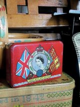 OXO缶 スープ エリザベス女王 1953年 コロネーション from LONDON