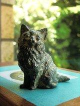 アンティーク 猫の置物 ヴィクトリアンキャット