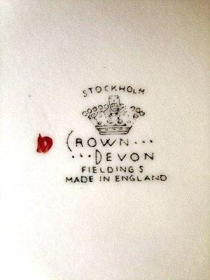 画像2: 赤い鹿 ボウル クラウン デボン窯  ストックホルム from London
