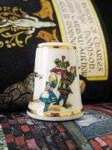 アリスのシンブル イギリス 不思議の国のアリス 指ぬきコレクション キルト パッチワーク