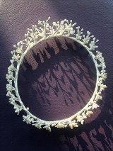 ワックスフラワー はなかんむり 花嫁のティアラ アンティーク