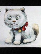 猫のぬいぐるみ ポストカード