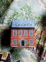 ドールハウス ブリキの小さな家シリーズ ミニチュア缶 英国