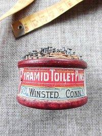 古い時代の虫ピンのパッケージ イギリス